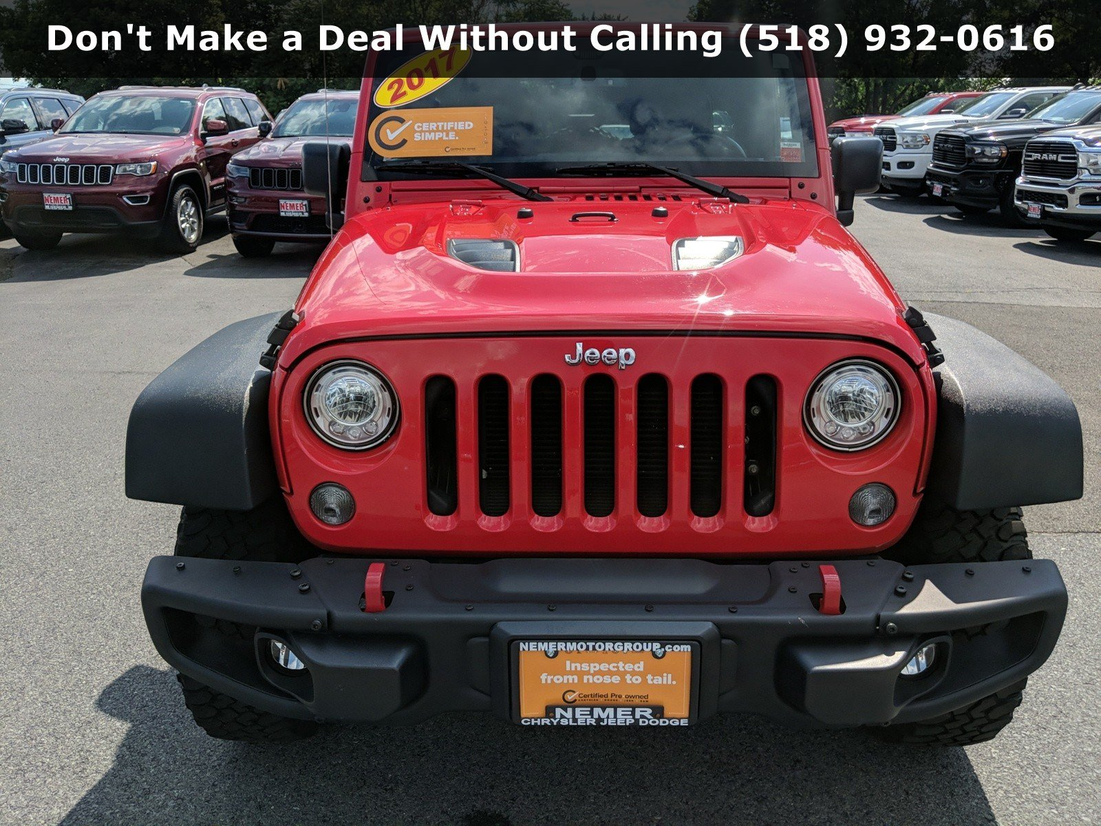 Certified Pre-Owned 2017 Jeep Wrangler Unlimited Rubicon Hard Rock