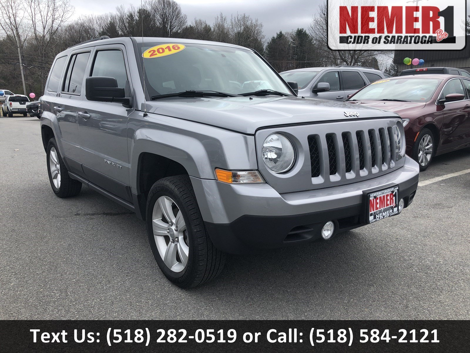 Pre-Owned 2016 Jeep Patriot Latitude