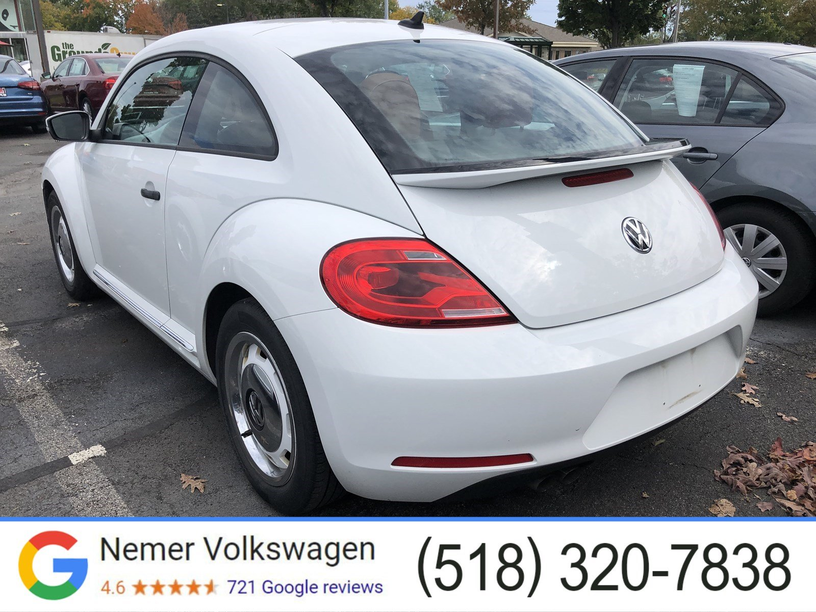 Pre-Owned 2015 Volkswagen Beetle Coupe 1.8T Fleet Edition