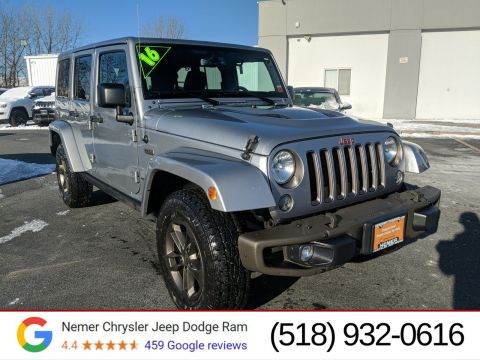 Certified Pre-Owned 2016 Jeep Wrangler Unlimited 75th Anniversary